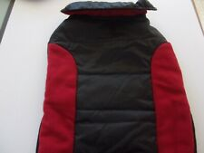Red Black Jacket Dog L Large new pet puppy coat winter