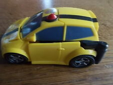 Vintage 1990s BUMBLE BEE Transformers Yellow Car with Red Light Vehicle VGC