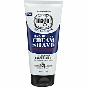 Magic Razor less Cream Shave Hair Removing Regular 170g