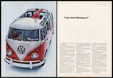 91.5X61cm 1961 VW Bus Volkswagen California Route 1 Art Poster Print 36X24