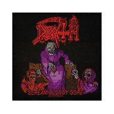 """Death Scream Bloody Gore"" Album Art Metal Band Music Sew On Applique Patch"