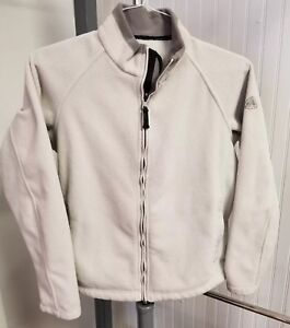VTG Nike ACG Thermal Layer 2 Therma-Fit Fleece Womens Jacket Size M (8-10) Gray