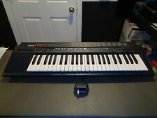 YAMAHA PSR-2 49-Key Portable Electronic Keyboard With AC Adapter *Great Shape*