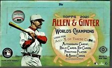 2021 Topps Allen & Ginter Baseball Factory Sealed Hobby Box