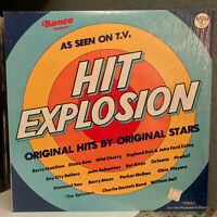 "1977 Ronco Compilation - HIT EXPLOSION(Orig Shrinkwrap) 12"" Vinyl Record LP - EX"