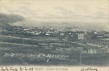 SPAIN Tenerife Carretera de la Laguna 1909 PC