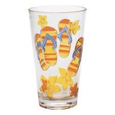 Flip Flop Fun Yellow Acrylic Tumbler Cup 20 Oz 21685Y