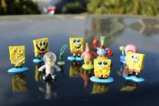 SpongeBob SquarePants 10PCS Action Figure Toy Kid Gift Plus a Beautiful Case