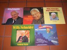 """""""12"""" - LP-Sammlung - WILLY SCHNEIDER - 4 LPs und 1 DOLP - near MINT !!!"""