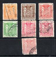 New Zealand 1931 Arms used collection to £1 WS14163