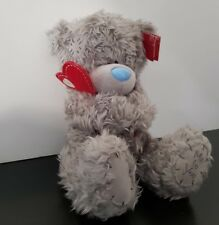 Me To You Bear 21cm Love Heart Cuddle Gift Blue Nose