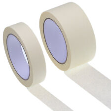 "GENERAL MASKING TAPE 2"" 50MM-25mm x 50M PAINTER PAINTING DECORATING ART CRAFT"