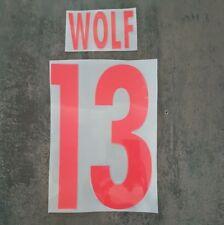Flocage Domicile 2016-17 RB Salzburg Wolf 13