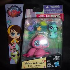 Littlest Pet Shop NEW Pawsabilities Wallace Waterman walrus 3818 seahorse sally