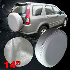 Silver TOTOYA RAV4 SPARE TIRE COVER WEATHER RESISTANT, RUGGED Easy to Install