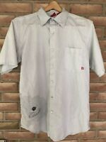 ELEMENT Skateboard Wood and Thread Button Down Shirt Men's Size Large