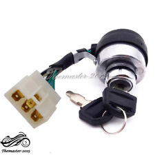 6 Wire On Off Start Ignition Key Switch For Chinese Portable Gasoline Generator