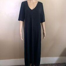 J. Jill Size Charcoal Gray Wool Blend Sweater Dress, Size L