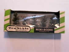 American Flyer Christmas Trees TruScale Full Box of 5 Shade Trees Nos,Mintl@K !