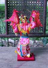 Vintage Chinese New Year Doll, Colorful Asian Doll, Year of the Rooster Doll