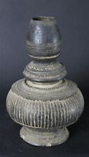 Antique Laotian 18th. Century Excavated  Clay Water Bottle Luang Prabang.