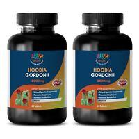 20:1 Extract - Hoodia Gordonii 2000mg Extract - Burn Calories - 2B 120Ct