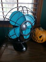 Antique Electric Fan Vintage 3 spd Westinghouse Metal beautiful Fast Shipping