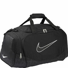 Nike Brasilia Duffel Bag Training Sports Holdall gym Travel Bag Small Black
