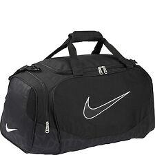 Nike Brasilia Duffel Bag Training Sports Holdall gym Travel Bag Small Black