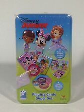 Disney Junior Playing Cards Super Set New Doc McStuffins Sofia Minnie Mouse