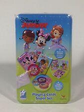 Disney Junior Playing Cards Super Set New Doc McStuffins Sofia Minnie Mouse
