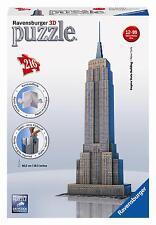 Ravensburger - Puzzle 3d edifici famosi selezionabile 12553 Empire State Building