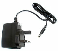 ROLAND D-5 SYNTHESIZER POWER SUPPLY REPLACEMENT ADAPTER UK 9V