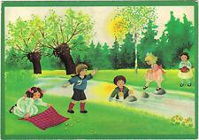 Fantaisie - cpsm - Jeux d'enfants