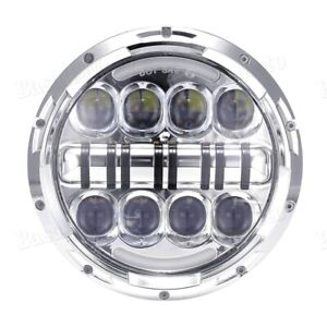 inch LED Headlight High/Low For Kawasaki VN Vulcan 500 750 800 900 1500 1600 BS