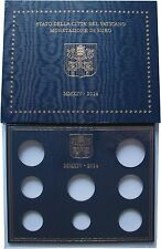 EURO KMS Folder Vatikan Vaticano 2014 - leer - ohne Münzen