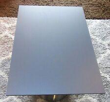 HPL Platte Tischplatte 8mm Steel Grey beidseitig 715 x 502 mm TRESPA® Meteon®