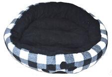 lit de chien Chat Coussin pour chien, animal panier noir grand