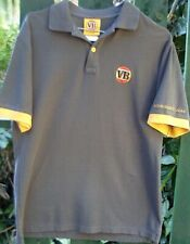 CUB 2006 (S) Men's Embroidered VB Polo Shirt GREY/GOLD Breweriana Collectable AU
