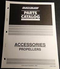 1994 Quicksilver Accessories Propellers Parts Manual 30 Pg (401)