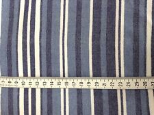 White/blue/navy striped fabric (4-way stretch) (active/dance wear) (285)