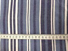 BIANCO/Blu/navy a righe in tessuto stretch (4-way) (attivo/Dance Wear) (285)