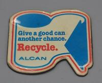 Vintage Alcan Recycle Magnetic Kitchen Advertising