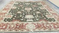 12'x17' ANTIQUITY HAND-KNOTTED OUSHAK TRIBAL PESHAWAR VINTAGE WOOL MUTED RUG