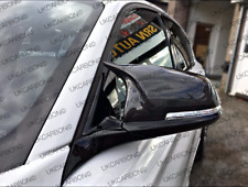 UKCARBON M Style Carbon Fibre Wing Mirror Cover Replacements For BMW 3 SERIES