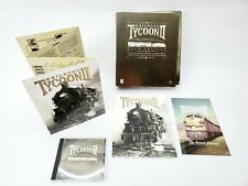 Railroad Tycoon II : Gold Edition Big Box PC Game - NEW (See Description)