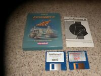 Goldrunner II Atari ST Game with box and manual