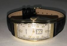 Vintage Mens Longines 10K Gold Filled Curvex Watch 1940's