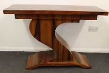 ANTIQUE ART DECO STYLE CONSOLE HALL TABLE IN ROSEWOOD - HOME FURNITURE - C233