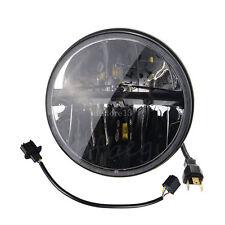 7'' Moto Phare Projecteur LED Headlight Adaptateur Lampe Pr Harley Jeep Wrangler